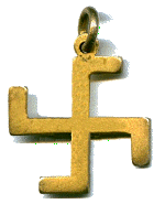1st Swastika Thanks Badge